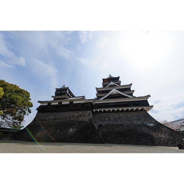 #熊本城 壊れてしまい残念です。またこの景色が見れますように願っています。#instagramers #instagramJapan #icu_japan #top_pointfview #team_jp_ #team_jp_西 #ig_photooftheday #ig_japan #igersjp  #wu_japan #ig_nihon #Lovers_Nippon  #ig_nippon #love_nippon #ip_gallery #photoisland #Fukuoka  #ip_connect #tokyocameraclub #東京カメラ部 #ink361_asia #写真好きな人と繋がりたい #ファインダー越しの私の世界